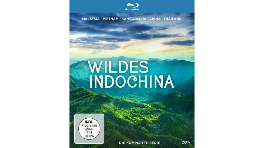 Wildes Indochina Die komplette Serie 2 BRs