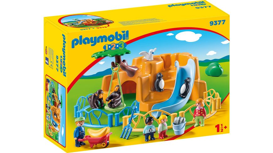 PLAYMOBIL 9377 1 2 3 Zoo