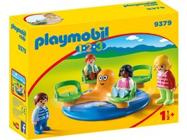 PLAYMOBIL 9379 1 2 3 Kinderkarussell