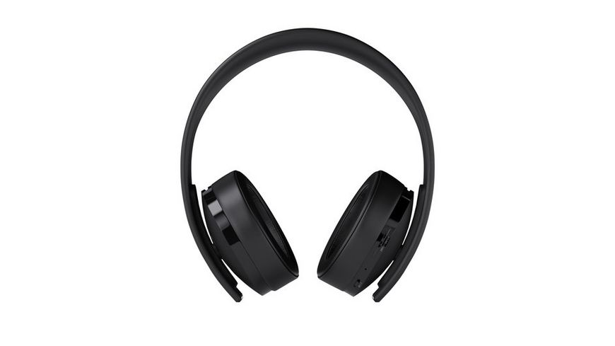 PS4 Gold Wireless Headset 7 1