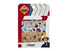 Undercover Feuerwehrmann Sam Sticker Set
