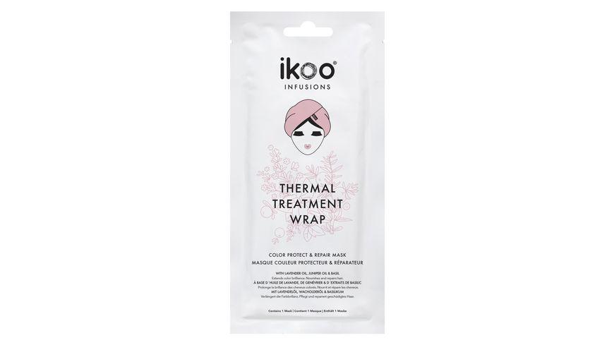ikoo Thermal Treatment Wrap Haarmaske Protect Repair