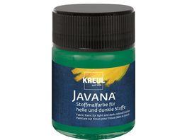 KREUL Javana Stoffmalfarbe fuer helle und dunkle Stoffe 50 ml