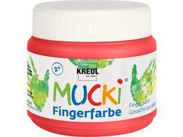 KREUL MUCKI Fingerfarbe rot