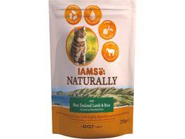IAMS Naturally Katzentrockenfutter mit Lamm