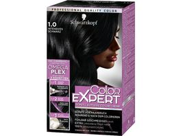 Schwarzkopf COLOR EXPERT Intensiv Pflege Color Creme 1 0 Intensives Schwarz
