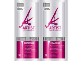 ARTIST Silberglanz Shampoo und Haarkur
