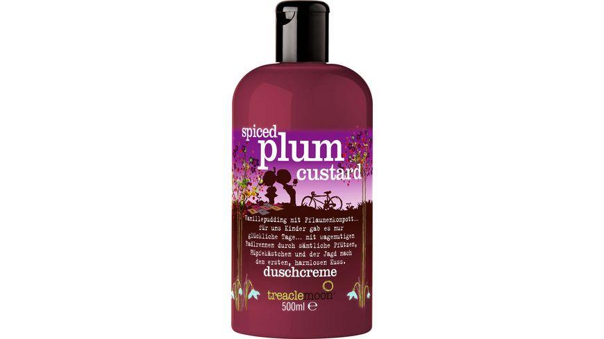 treaclemoon duschcreme spiced plum custard