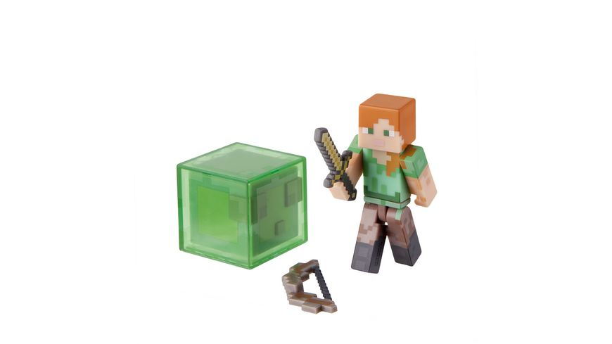 Minecraft Sammelfigur Alex mit Zubehoer