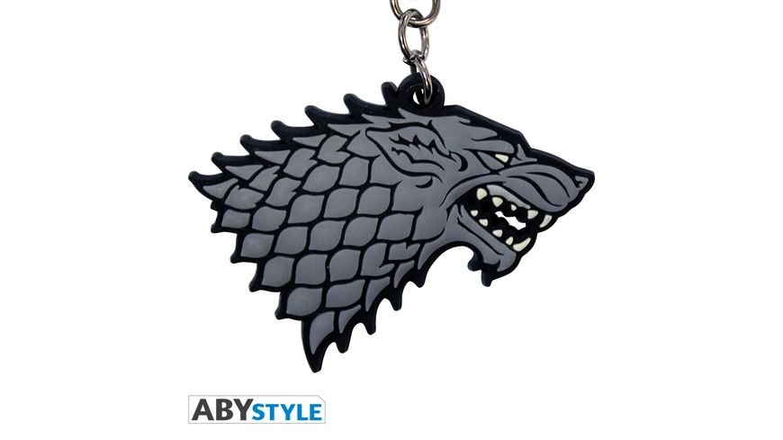 Game of Thrones Stark PVC Schluesselanhaenger