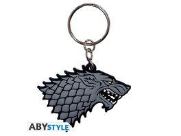 Game of Thrones Stark PVC Schluesselanhaenger
