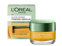 L OREAL PARIS Tonerde Absolue Glow Maske