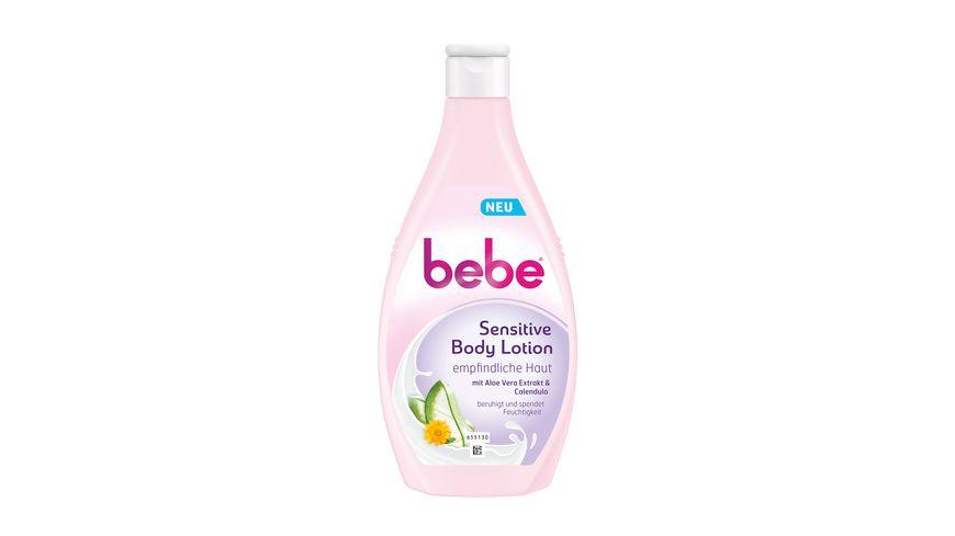bebe Sensitive Body Lotion 400ml