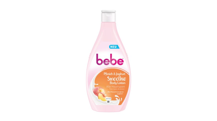 bebe Pfirsich Joghurt Smoothie Body Lotion 400ml