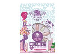 CCLABELLE 24 Stiletto Nagelset Shhh It s A Secret Candy Floss Gloss