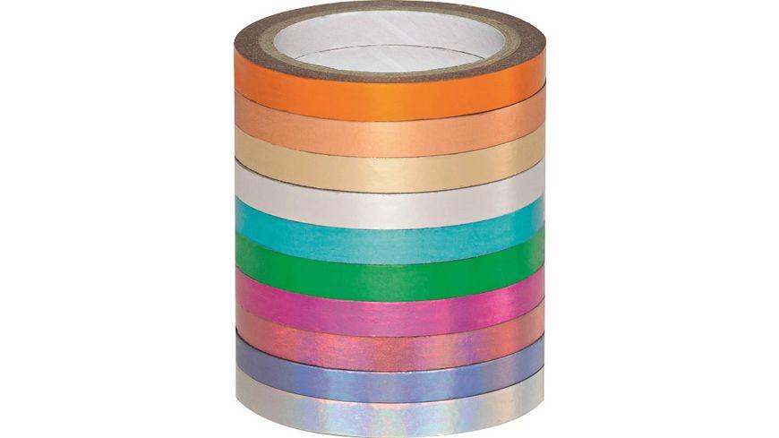 folia Washi Tape Hotfoil 10er Set