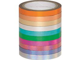 folia Washi Tape Hotfoil 10er Set