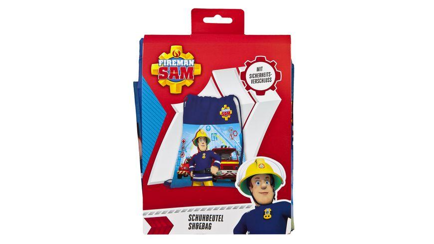 Undercover Feuerwehrmann Sam Schuhbeutel