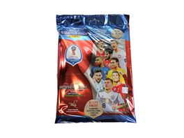 Panini FIFA World Cup Russia 2018 STARTER SET Sammelordner Sammlermagazin Spielfeld 4 Booster 1 limited Edition Card 1 Special Karte