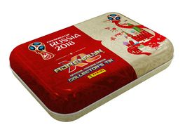 Panini FIFA World Cup Russia 2018 POCKET TIN 4 Booster 1 limited Edition Card Agueero 1 Special Card