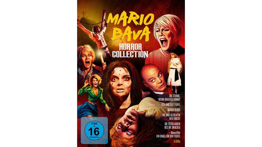 Mario Bava Horror Collection Limitiert 6 DVDs