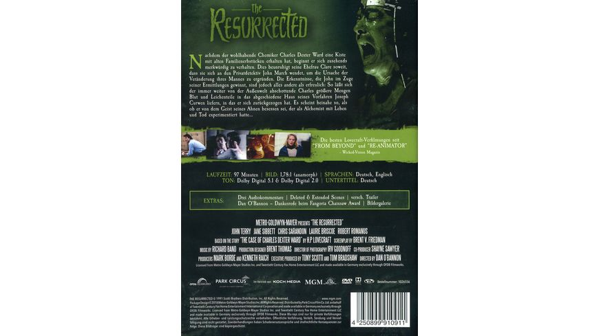 The Resurrected Die Saat des Boesen
