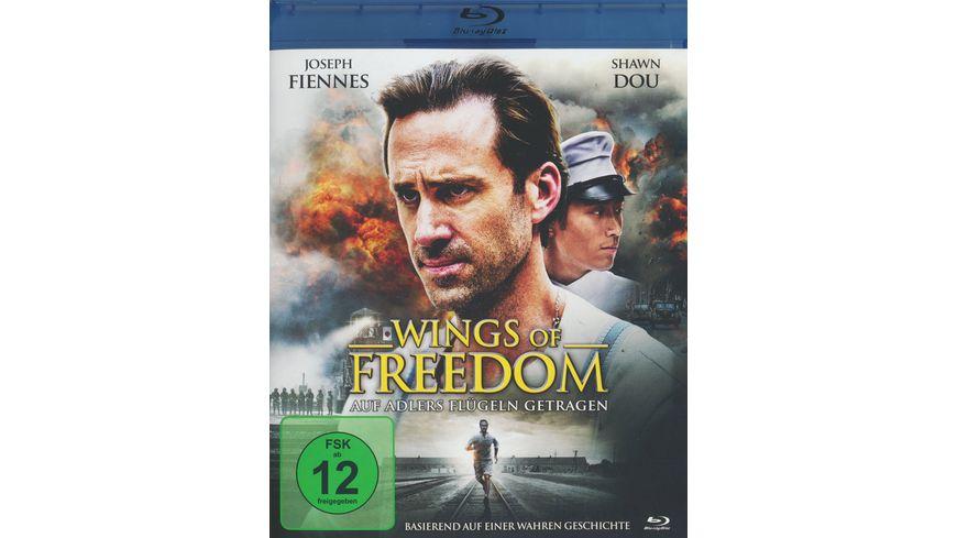 Wings of Freedom Auf Adlers Fluegeln getragen