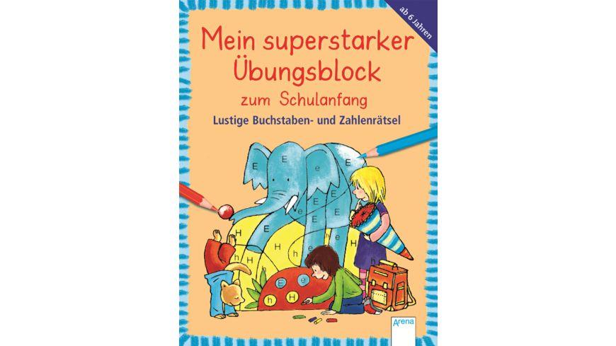 Buch ARENA Lustige Buchstaben und Zahlenraetsel