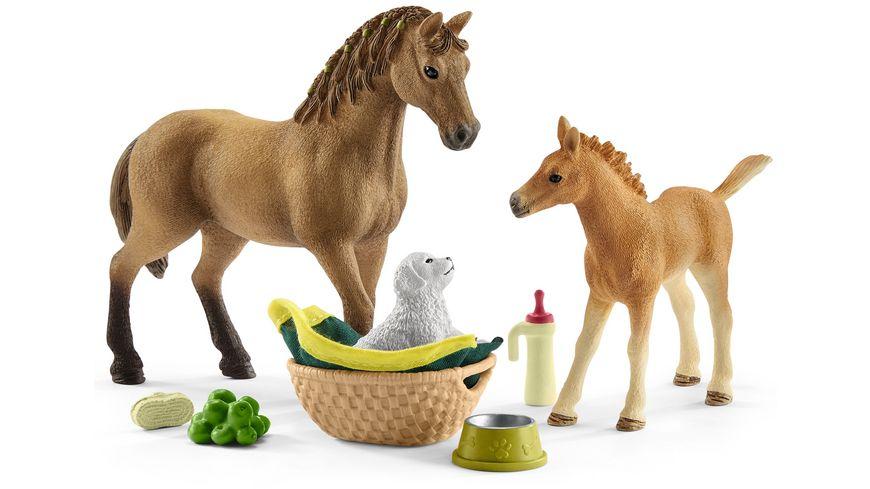 Schleich 42432 Horse Club Sarahs Tierbaby Pflege
