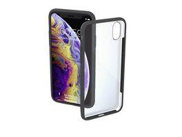 Cover Frame fuer Apple iPhone X Xs Transparent Grau