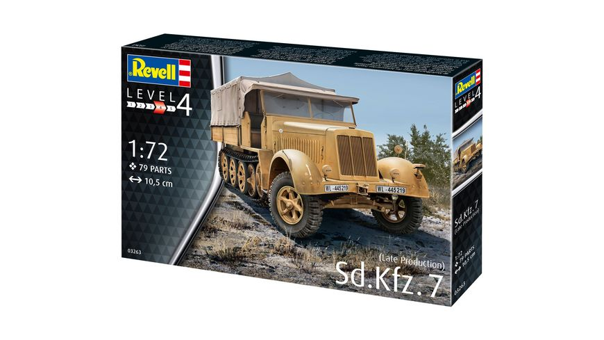 Revell 03263 Sd Kfz 7 Late Production