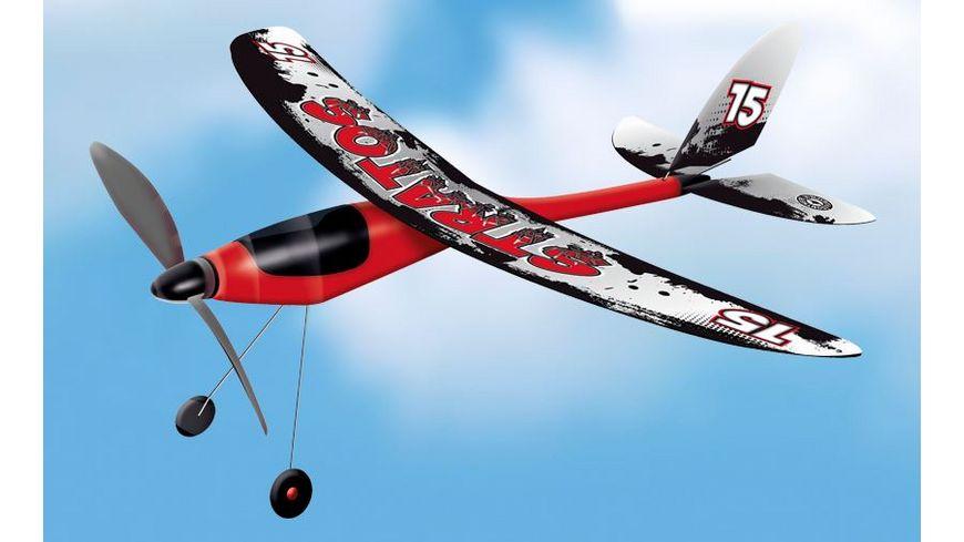 Guenther Flugmodelle STRATOS Propeller Maschinen mit Gummimotor