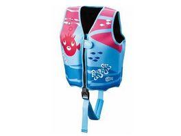 BECO Schwimmweste blau pink