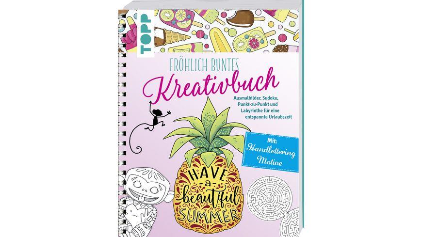 Froehlich buntes Kreativbuch