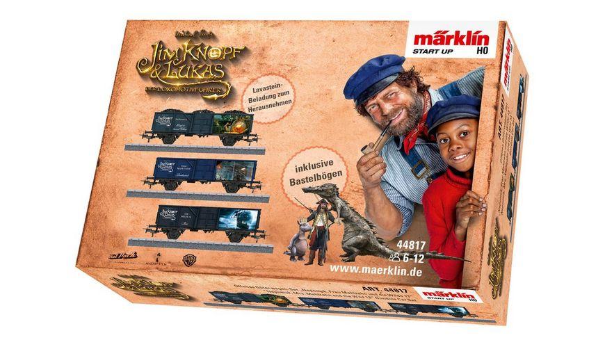 """Märklin 44817 Start up - Offenes Güterwagen-Set """"Nepomuk, Frau Mahlzahn und die Wilde 13"""""""