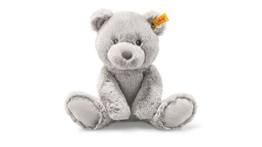 Steiff Soft Cuddly Friends Bearzy Teddybaer 28 cm grau