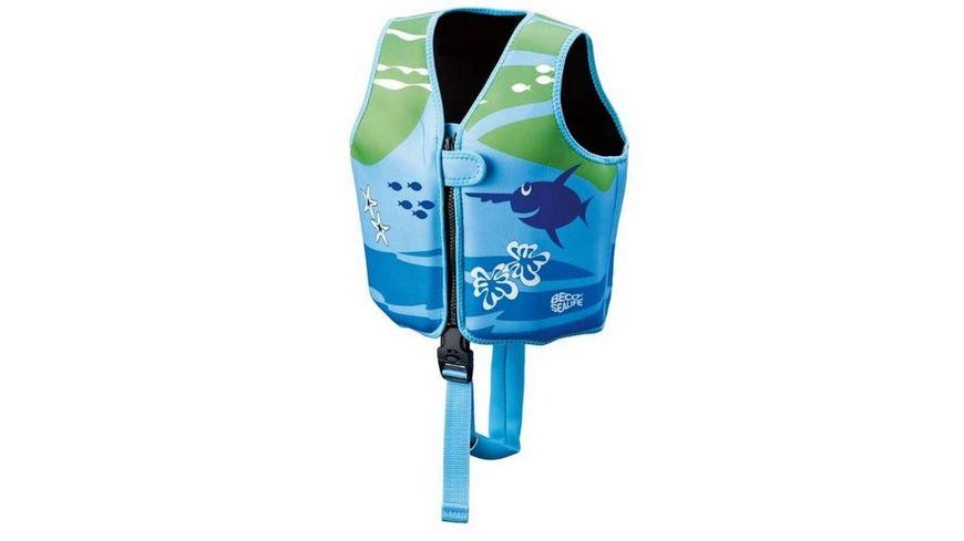 BECO Schwimmweste blau gruen