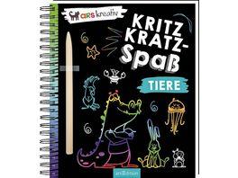 Buch Ars edition Kritzkratz Spass Tiere