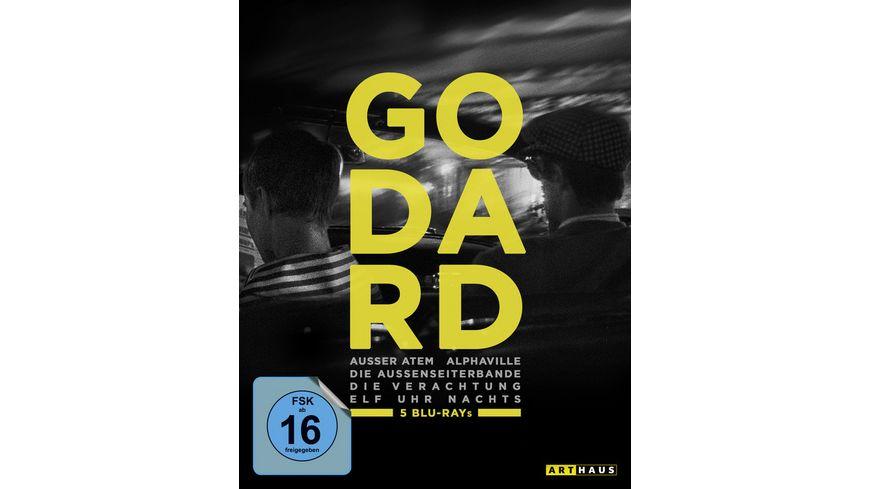 Jean Luc Godard Edition 5 BRs