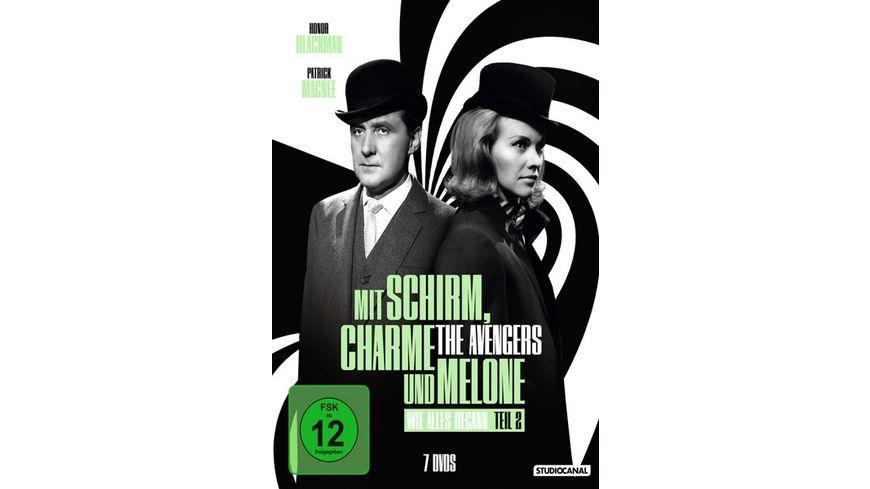 Mit Schirm Charme und Melone Wie alles begann Edition 2 7 DVDs