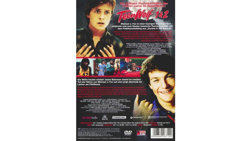 Teen Wolf 1 2 2 DVDs