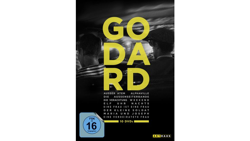 Best of Jean Luc Godard 10 DVDs