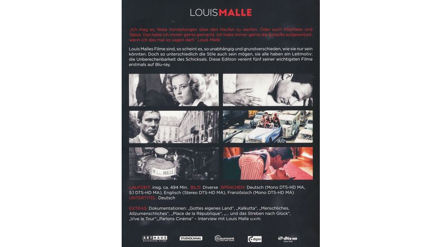 Louis Malle Edition 5 BRs
