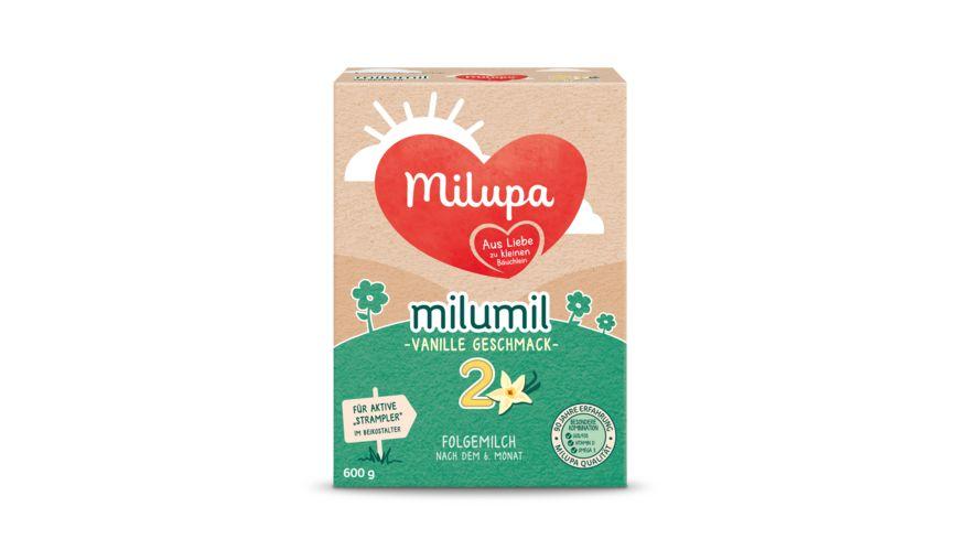 Milupa Milumil 2 Folgemilch Vanille Geschmack nach dem 6 Monat