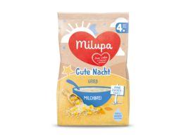 Milupa Gute Nacht Milchbrei Griess nach dem 4 Monat
