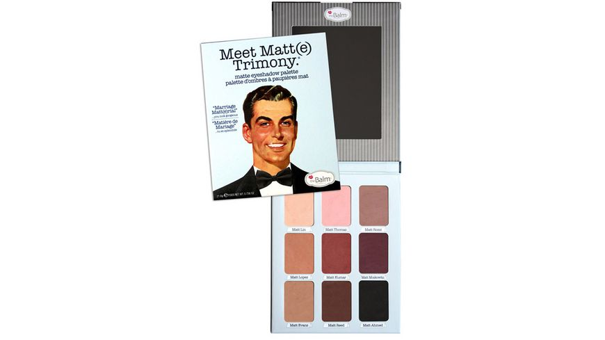 theBalm Meet Matt e Trimony