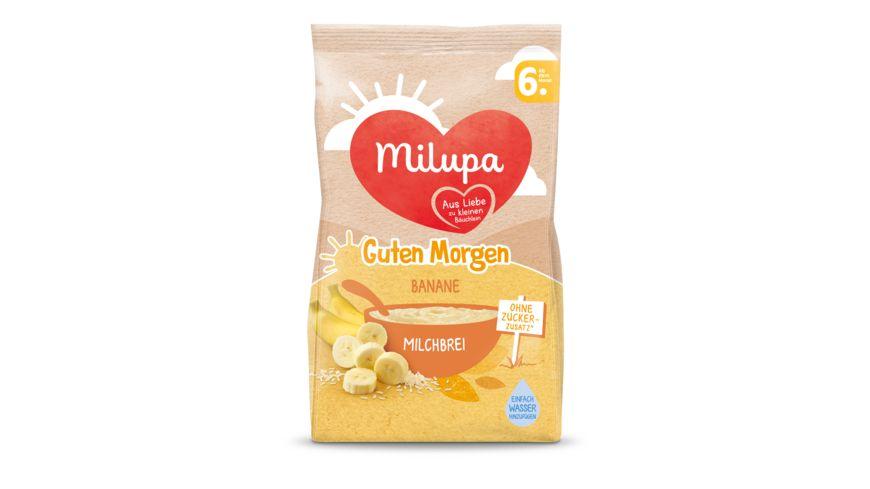 Milupa Guten Morgen Milchbrei Banane ab dem 6 Monat