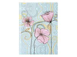 goldbuch Notizbuch A5 200 Seiten blanko Flora Flower