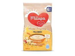Milupa Guten Morgen Milchbrei Milde Fruechte ab dem 6 Monat