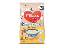 Milupa Gute Nacht Milchbrei Vollkorn Fruechte ab dem 6 Monat